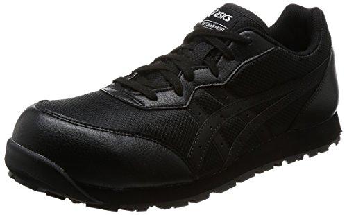 [アシックス] ワーキング 安全靴/作業靴 ウィンジョブ CP201 JSAA A種先芯 耐滑ソール メンズ ブラック/ブラック 27.0 cm