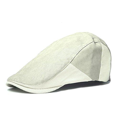 Shuda Unisexo Sombrero de Boina de Estilo Británico Gorra de Hombre Mujer Sombreros para el Sol Sombrero Casual de Boina Otoño Invierno Casual Diario Viajes Fiesta 1Pcs