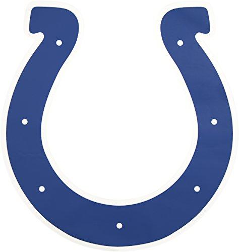 Applied Icon, NFL Indianapolis Colts Outdoor-Logo-Aufkleber, königsblau, 91,4 cm