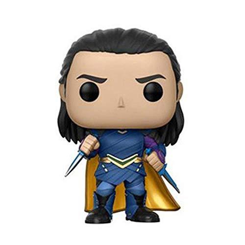 Action Figure Marvel Thor: Ragnarök Gott des Bösen Loki Zeichentrickfigur Modell Puppe - Kinder Geburtstags-Geschenke A