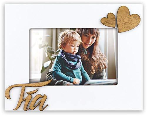 zep TIA marco de madera con marqueria para felicitar a tu tio, sobremesa para una foto 10x15...