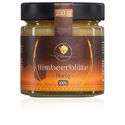 Naturezon® Himbeerblüte Honig - 100% Sorten Honig - keine Mischung - Imker aus Münsterland - 20Jahre Erfahrung (Himbeerblüte, 250g)