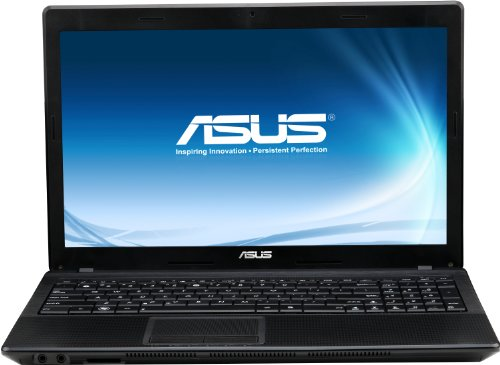 Asus F55C-SX025DU 39,6 cm (15,6 Zoll) Notebook (Intel Core i3 2350M, 2,4GHz, 4GB RAM, 500GB HDD, Intel HD 3000, Linux) schwarz