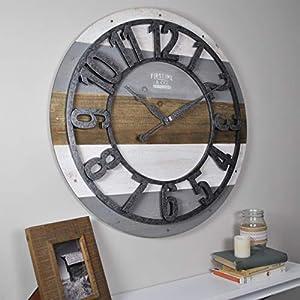 41oseUmtRML._SS300_ Coastal Wall Clocks & Beach Wall Clocks