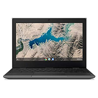 "Lenovo 100E Chromebook 2ND Gen Laptop, 11.6"" HD (1366 X 768) Display, MediaTek MT8173C Processor, 4GB LPDDR3 RAM, 16GB eMMC TLC SSD, Powervr GX6250, Chrome OS, 81QB000AUS, Black"