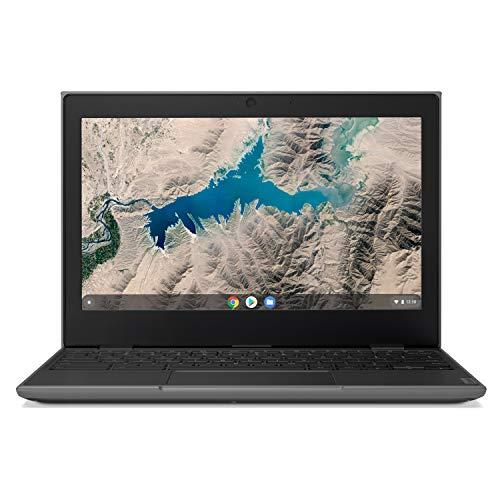 "Lenovo 100E Chromebook 2ND Gen Laptop, 11.6"" HD (1366 X 768) Display, MediaTek MT8173C Processor, 4GB LPDDR3 RAM, 16GB eMMC TLC SSD, Powervr GX6250, Chrome OS, 81QB000AUS, Black"