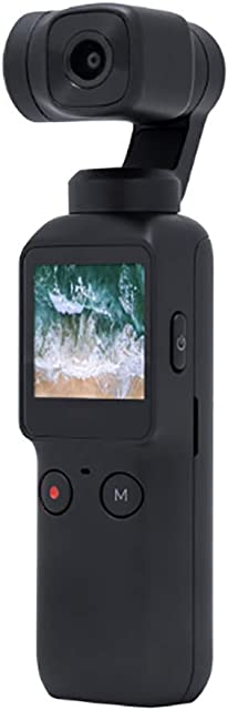 KANGLE-DERI Cámara De Acción Camara De Video Bolsillo 120 ° Súper Gran Angular Pista Inteligente Control De WiFi PTZ La Camara De Mano Estabilizador Carga USB 4K Deporte