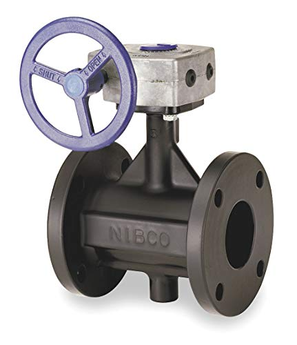 Nibco - FC27655 6 - Flanged-Style Butterfly Valve, Cast Iron, 200 psi, 6 Pipe Size
