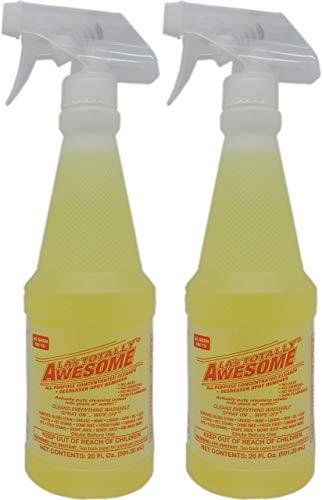 La's Totally Awesome Limpiador Multiuso, desengrasante y removedor de Manchas, 2 Botellas, Total de 40 onzas