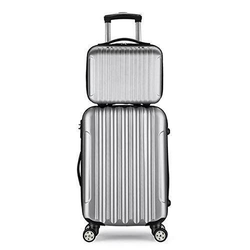 Best Prices! Suitcase 14inch+20 24inch Two Suitcase Set Carry On Luggage Boarding Trolley Case Outdo...