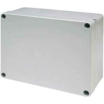 Famatel 3074 - Caja derivación estanca 220x170 tornillos: Amazon.es: Bricolaje y herramientas