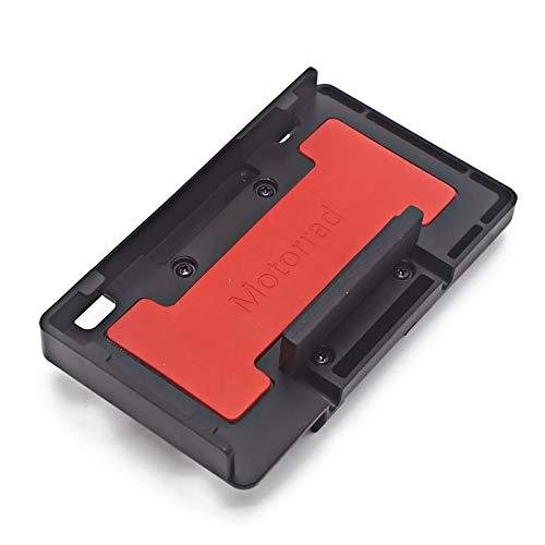 PINGHLIZHA Flat Store Ajuste para BMW R1200GS R1250GS ADV S1000XR F750GS F850GS Cargador inalámbrico Carga rápida Teléfono móvil Soporte de navegación (Color : Red)