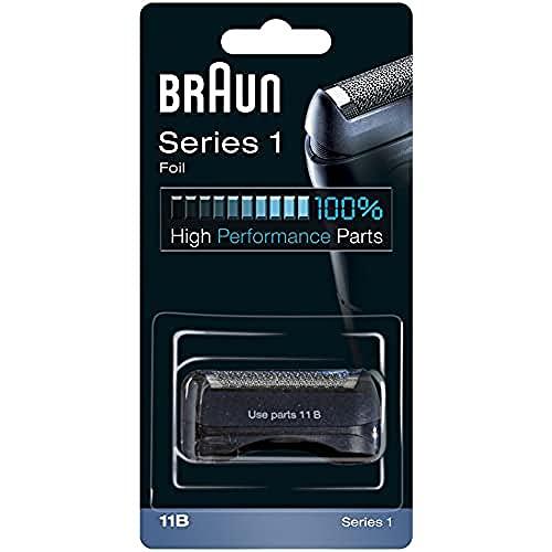 Braun 11B Recambio para afeitadora eléctrica hombre series 1, compatible con 150...