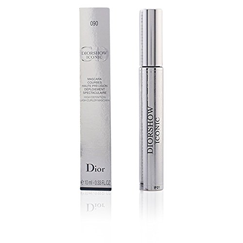 Christian Dior Iconic High Definition Lash Curler Mascara, 090 Black, 0.33 Ounce
