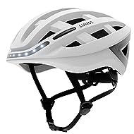 LUMOS Kickstart Smart Helmet | Bike Accessories | Adult: Men, Women | Front and Rear LED Lights | Turn Signals | Brake Lights | Bluetooth Connected