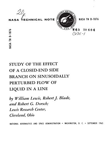 Study of the Effect of a Closed-End Side Branch on Sinusoidally Perturbed Flow of Liquid in a Line (English Edition)