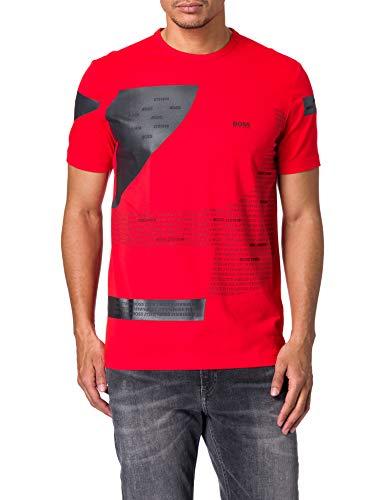 BOSS tee 6 10223985 01 Camiseta, Talla Mediana Red618, M para Hombre