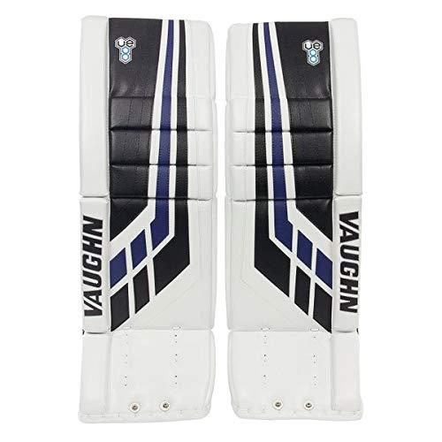 Vaughn Velocity VE8 Goalie Schienen Intermediate, Farbe:Weiss, Größe:28 + 2 Zoll