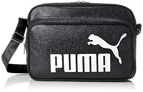 [プーマ]ショルダーバッグトレーニングPUショルダーMブラック/ホワイト(01)(現行モデル)