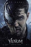 ヴェノム☆90×60cm☆海外 レア☆シルク調☆ファブリック ポスター☆2 Marvel Venom マーベル スパイダーマン トム・ハーディ ベノム