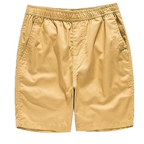 Verano básico de las mujeres pantalones cortos de pierna ancha de las mujeres cómodas sueltas de algodón casual pantalones