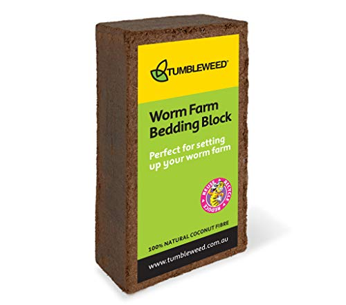 Best Review Of Tumbleweed Worm Farm Bedding Block - Expands in Water to Start Your Worm Farm - Coir ...
