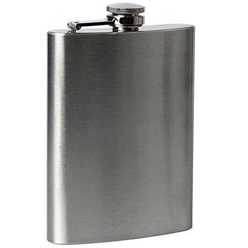 1 4 5 6 7 8 9 10 18 oz Hip Flask RVS Pocket Drink Whisky Flasks TOP (9OZ.)