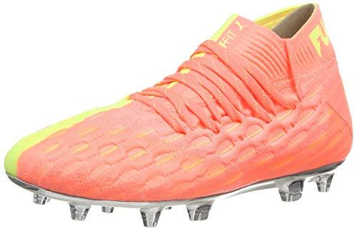 Puma Unisex-Kinder Future 5.1 Netfit Osg Fg/ag Jr Fußballschuhe, Orange (NRGY Peach-Fizzy Yellow), 33 EU