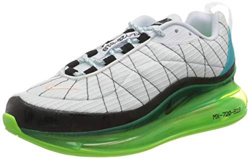 Nike Herren Mx-720-818 Laufschuh, White/Black-Ghost Green-Oracle Aqua, 40.5 EU