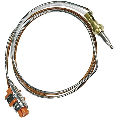 Thermocouple 515mm Plaque de cuisson 481010566187, 481213838004 WHIRLPOOL