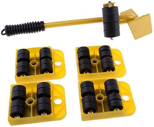 TXOZ-Q 360 ° Mover Muebles Roller Sistema Deslizante Rodillos/Muebles Set/Appliance, Conjunto de 5 Piezas, Mover hasta 150 kg / 330 LBS