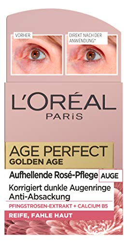 L'Oréal Paris Perfect Golden Age Rosé - Cuidado ocular con
