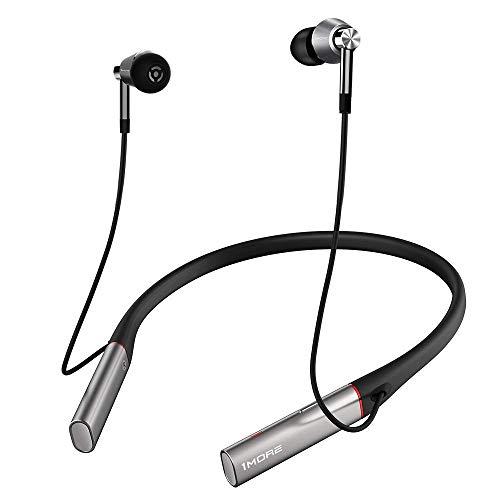 1MORE Triple-Driver Bluetooth HiFi Auriculares In-Ear, Auriculares Sonido inalámbrico LDAC, Aislamiento de Ruido Ambiental, Carga rápida y Control en Línea con micrófono para iOS/Android