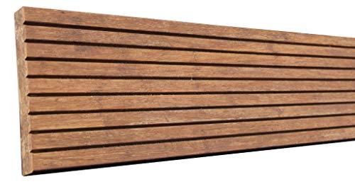 XycoX Fast 50% Terrassendiele 186x14x2 cm Bambus coffeegeölt