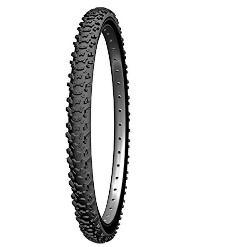 Michelin Country MUD.  Cubierta, Unisex, Negro, 26 x 2,00 (47-559)