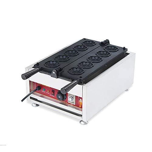 3200W Comercial De Flores De Cerezo Waffle Maker Antiadherente Calefacción De Doble...