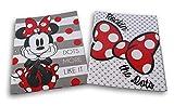 Minnie Mouse Folders Bundle - Set of Two 3-Hole 2-Pocket Portfolio Folders