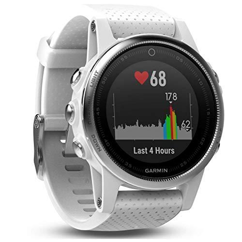 Preisvergleich Produktbild Garmin fnix 5S GPS-Multisport-Smartwatch - Herzfrequenzmessung am Handgelenk,  Sport- & Navigationsfunktionen