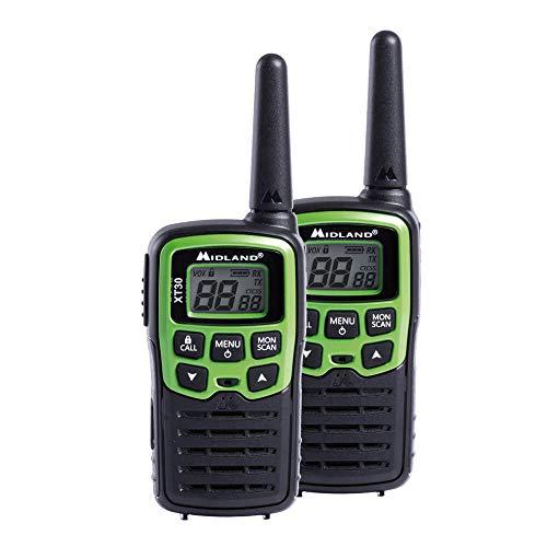Midland C1177 Radio Pmr, Negro/Verde