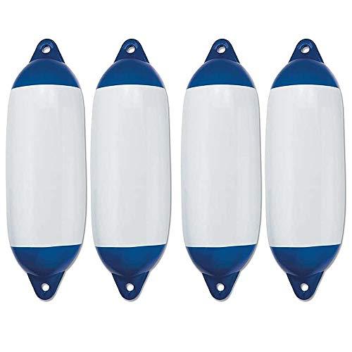 Multipack 4 Pezzi Parabordi Per Imbarcazioni Modello SFO Con Due Fori mm 450x120