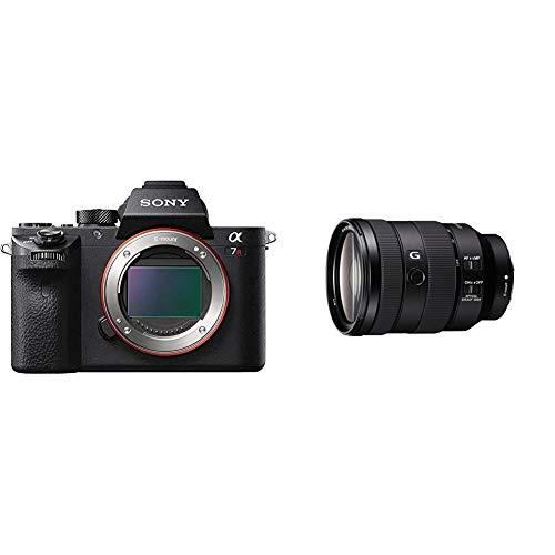 Sony Alpha 7 R II | Spiegellose Vollformat-Kamera (42,4 Mp, 0,02s AF, optische 5-Achsen-Bildstabilisierung im Gehäuse) & G Standard Zoom-Objektiv (24-105 mm, F4, OSS, Vollformat, E-Mount) schwarz