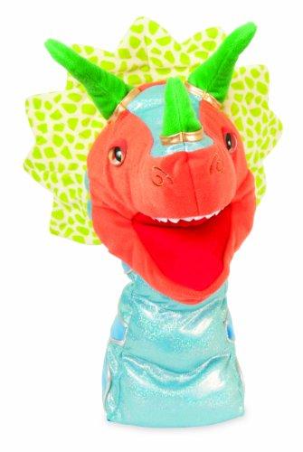 Manhattan Toy - 143500 - Marionnette et Théâtre - Prehistoric Pals - Trip Triceratops