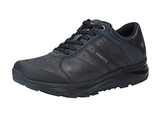Joya Innsbruck Low PTX 124-OUT-4100 Leather Mens Trainers - Black - 41 2/3