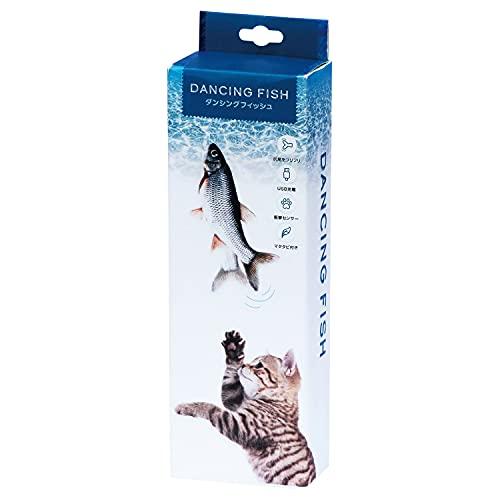 貝沼産業 猫用おもちゃ ダンシングフィッシュ 本体