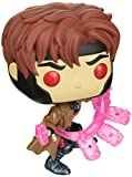 Funko Pop! Marvel: X-Men Classic– Gambit w/ Cards, Multicolor, Estándar...