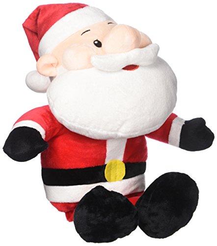 HollyHOME Santa Plush Toy Soft Stuffed Animal Festival Birthday Gift for Kids 21 Inches