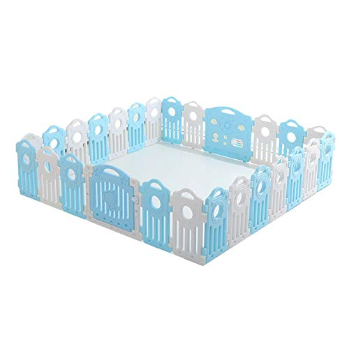 Amazing Deal CHAXIA Baby Playpen Kids Fence 24 Pieces Game Foldable Guard Fence Safety Household Fen...