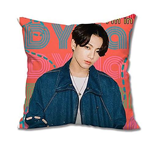 Mercancía BTS Kpop BTS Fashion Creative Fotografías de doble cara almohada,cojín...