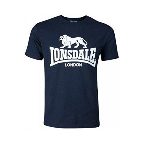 Lonsdale T-Shirt Logo Blu Navy, L
