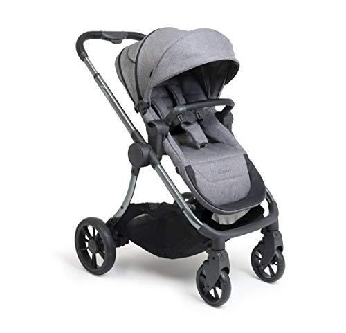 iCandy Lime Lifestyle ICL2370a - Cochecito de bebé y capazo con bolsa a juego y juego de cestos de carbón vegetal, color gris